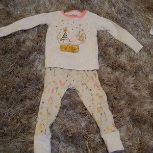 ☀️2 for $8 Toddler Christmas pajamas